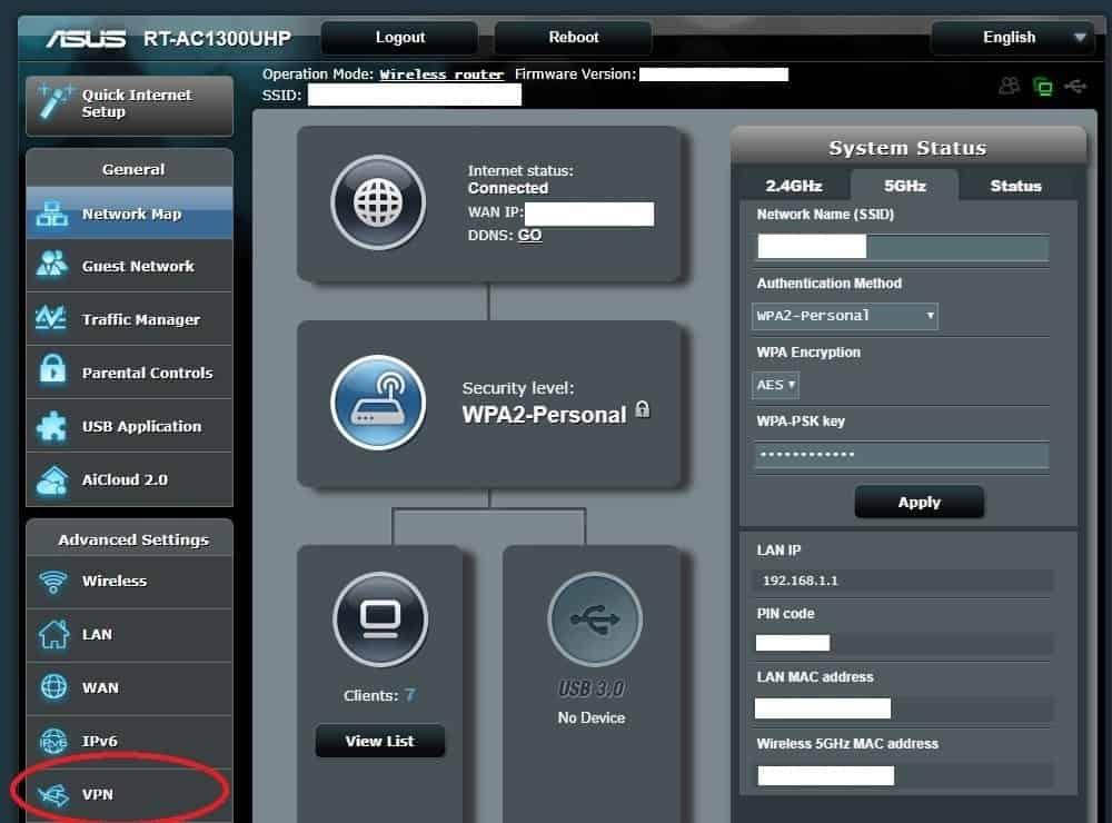 Configurer un VPN sur un Routeur
